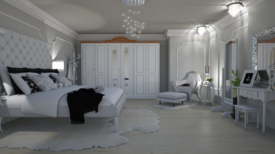 white vintige room - by snjeskasmjeska