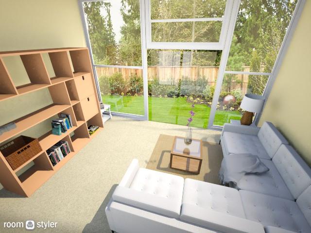 Spring Sunroom - Modern - Living room - by Nature Girl
