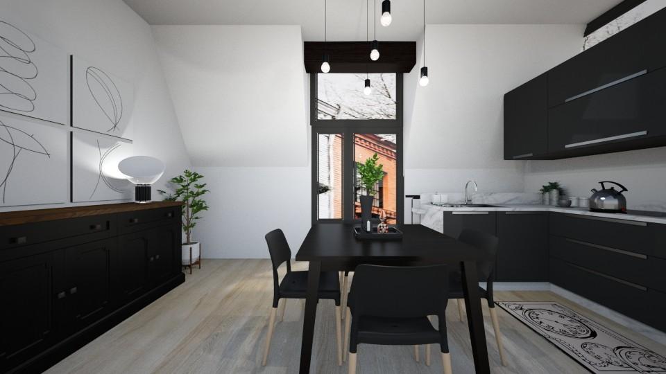 Casa247KitchenandDining - Eclectic - Kitchen - by nickynunes