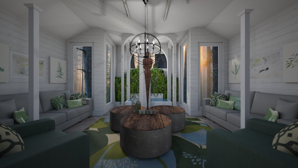 Sun Room - Office - by LooseThreads