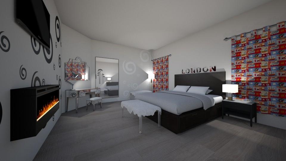 Teen Bedroom - by CherryPop