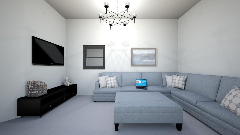 modern living room - Minimal - Living room - by silvitalaestilista