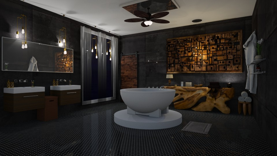 Cosy bath - Bathroom - by Jade Blt