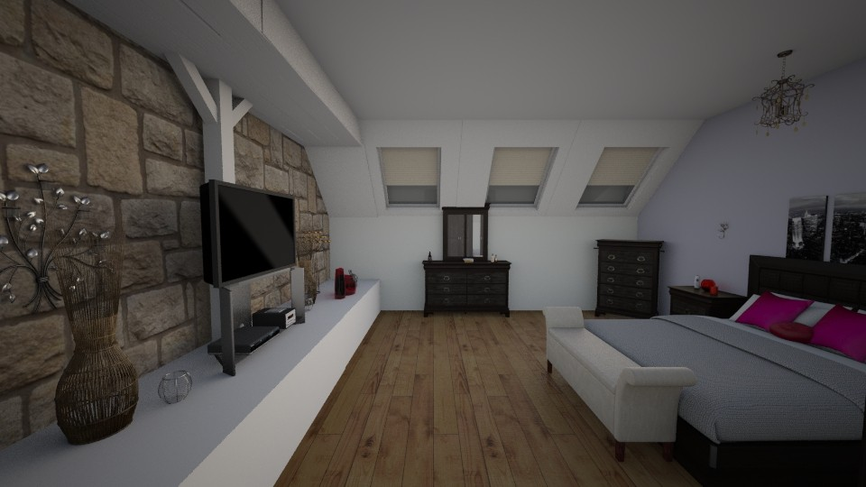 loft bedroom - Bedroom - by cdenton041793