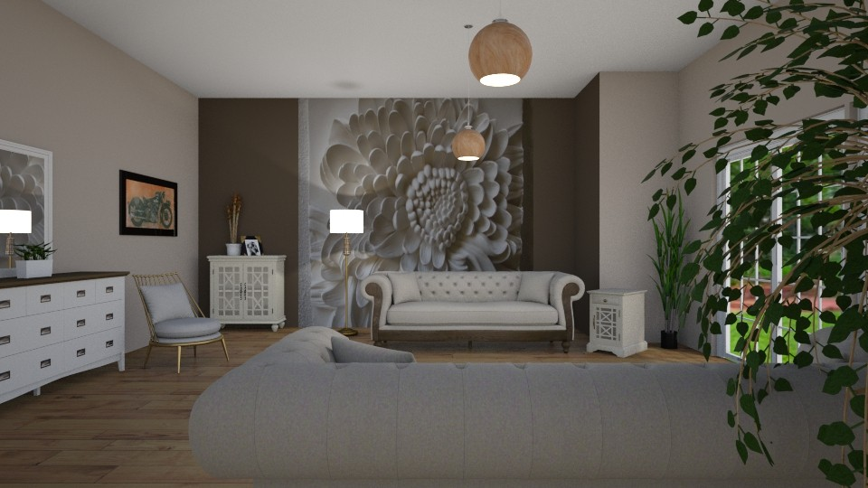 Room 7 - Living room - by Tiffany Y