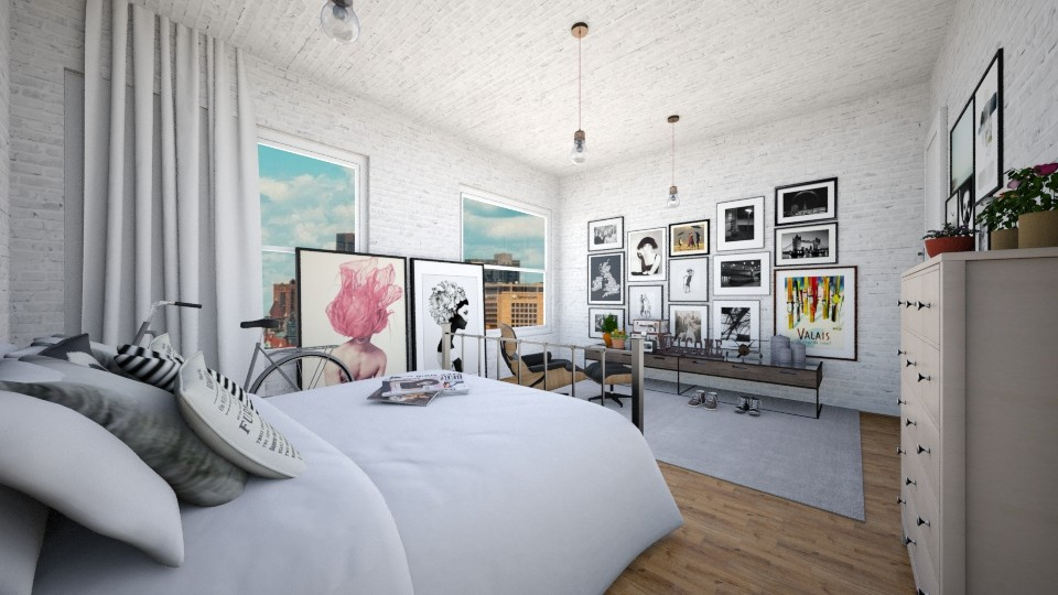 Young Chasers - Bedroom - by Karie Claudio