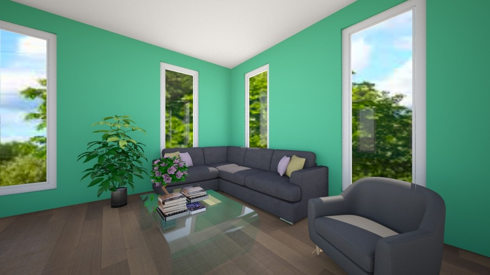 Reading Couch - Classic - Living room - by VibrantSplash