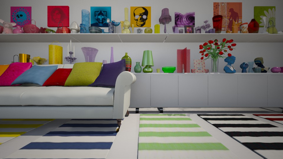 rainbow - Modern - Living room - by donella