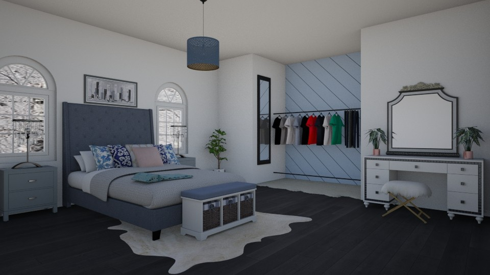 Cozy Bedroom - Modern - Bedroom - by Joy Oke