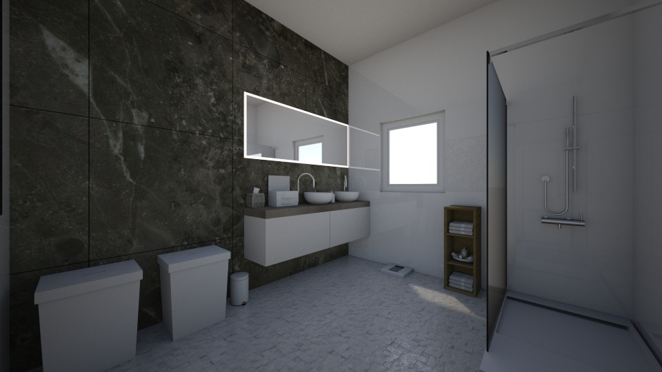 bathroom marmer - Modern - Bathroom - by homeee