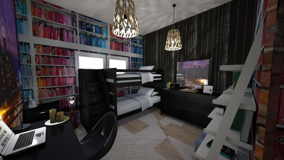 ReD - Bedroom - by Cheyennewakulchyk