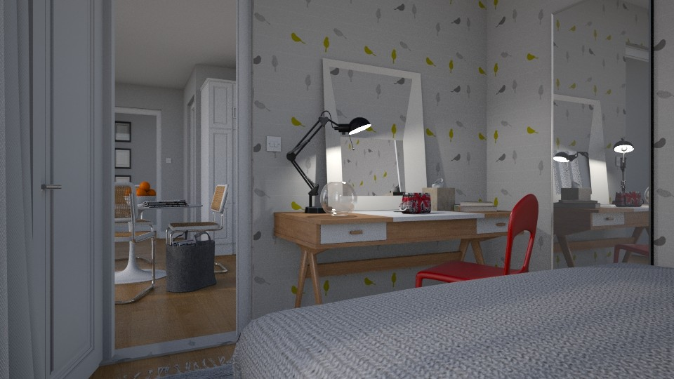Varmlandsgatan 28 Bedroom - by Valentinapenta