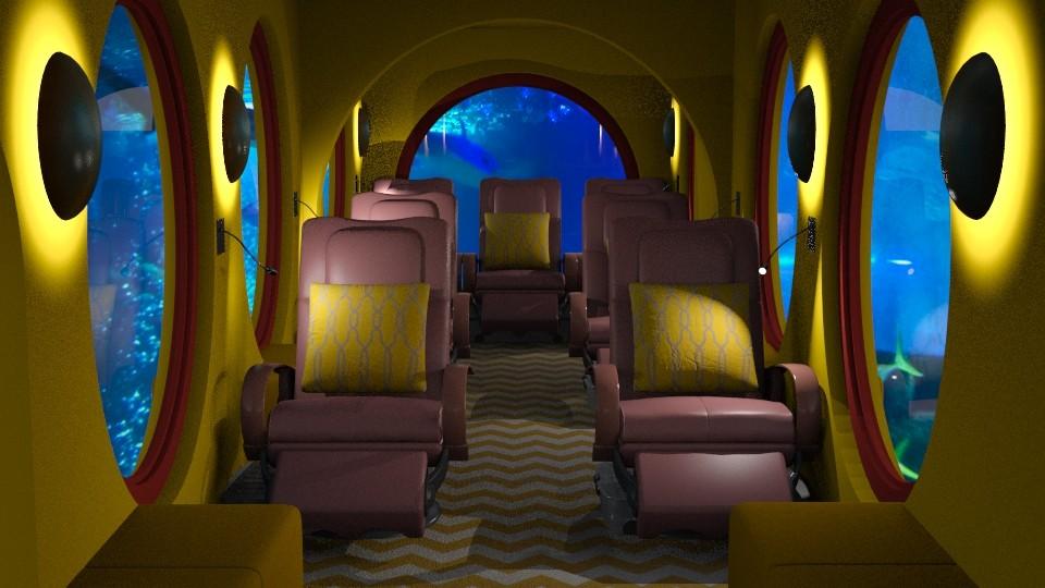 Jaya Yellow Submarine - Retro - by anchajaya