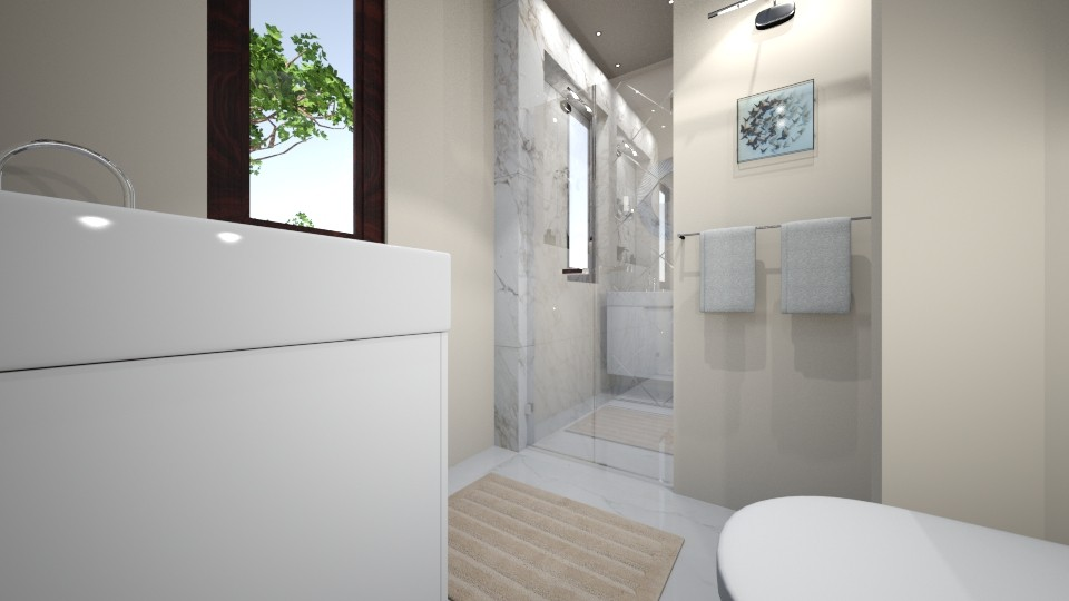 bath - Modern - Bathroom - by Bianca Interior Design