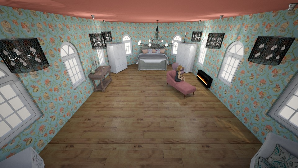 Chic Manor Bedroom - Bedroom - by MimiB115