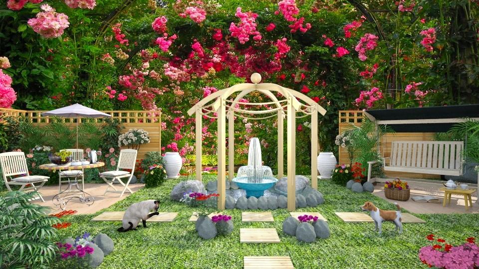 My Secret Garden - by lydiaenderlebell