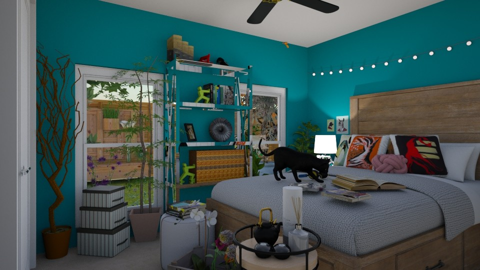 Planted - Bedroom - by _firecrackers