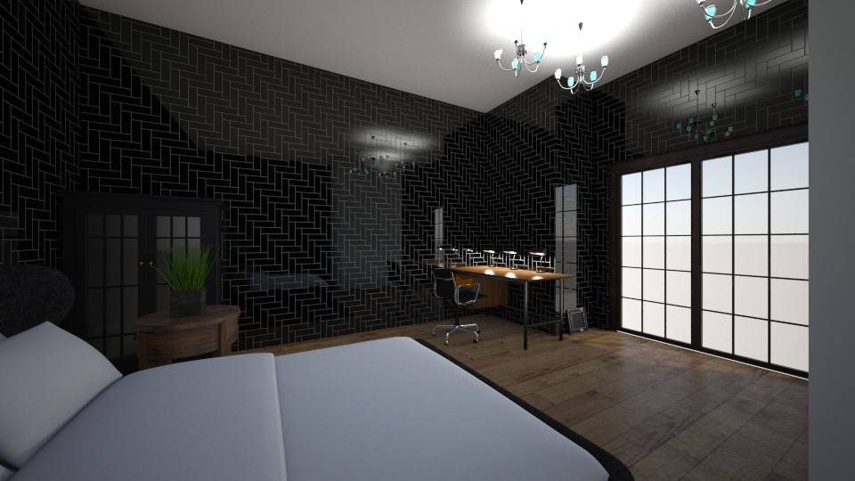 Samis room - Modern - Bedroom - by YEET12345678910