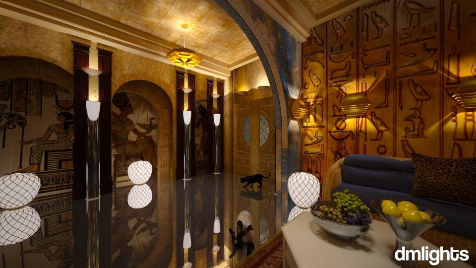 Egypt - Living room - by DMLights-user-1468788
