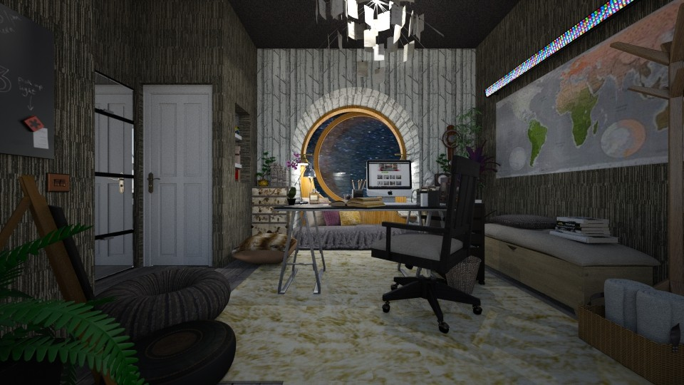 project relaxation room - by Eleni Irini