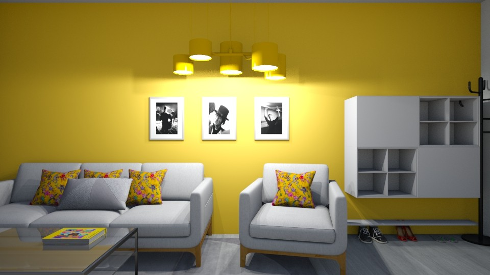 Mustard Mansion - Vintage - Living room - by 123LittleMe
