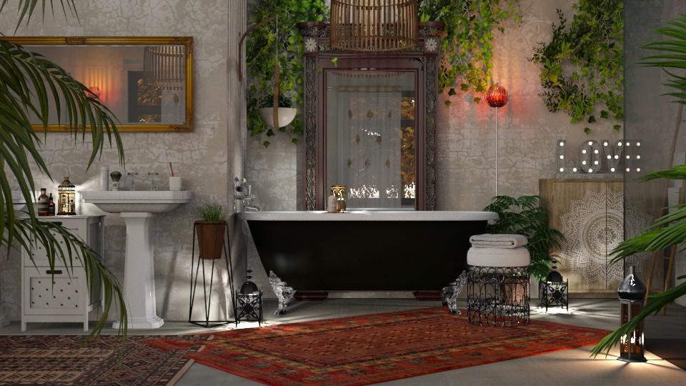 Bohemian Bathroom - Bathroom - by GraceKathryn