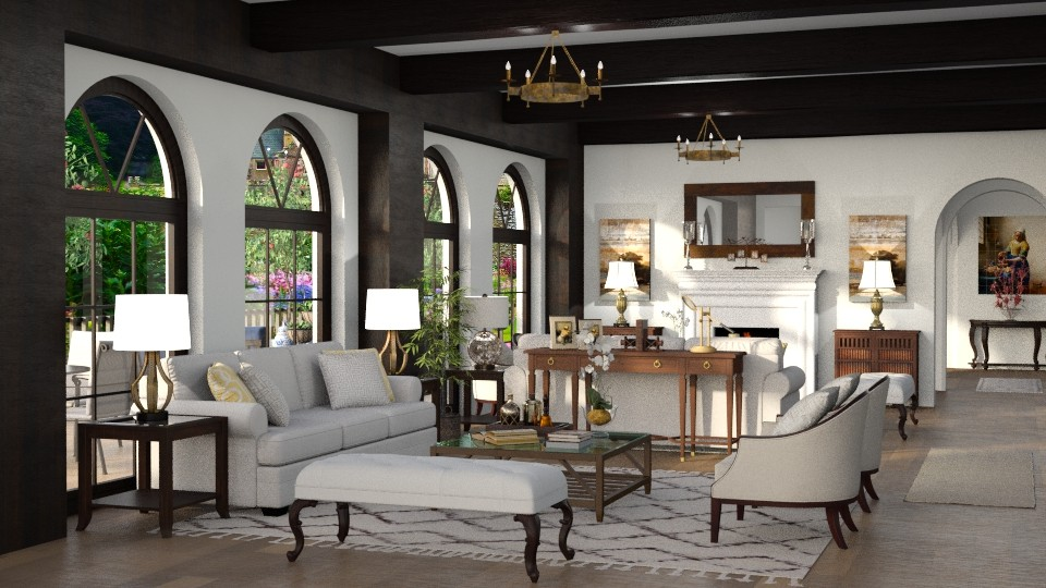 Santa Barbara Living - Living room - by Mariana Gooliveira