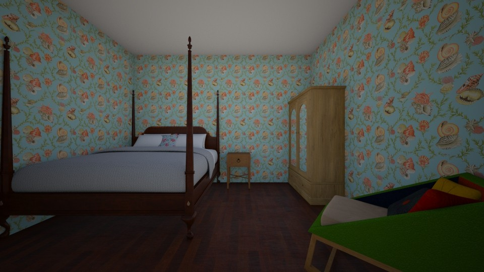 spare room - Vintage - Bedroom - by LuckyVicky