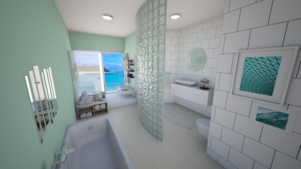 Retreat - Bathroom - by CarolinaB