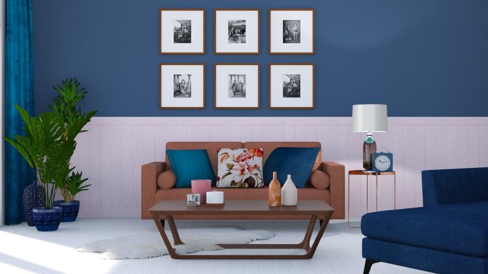 A bit of colour - Living room - by jagwas