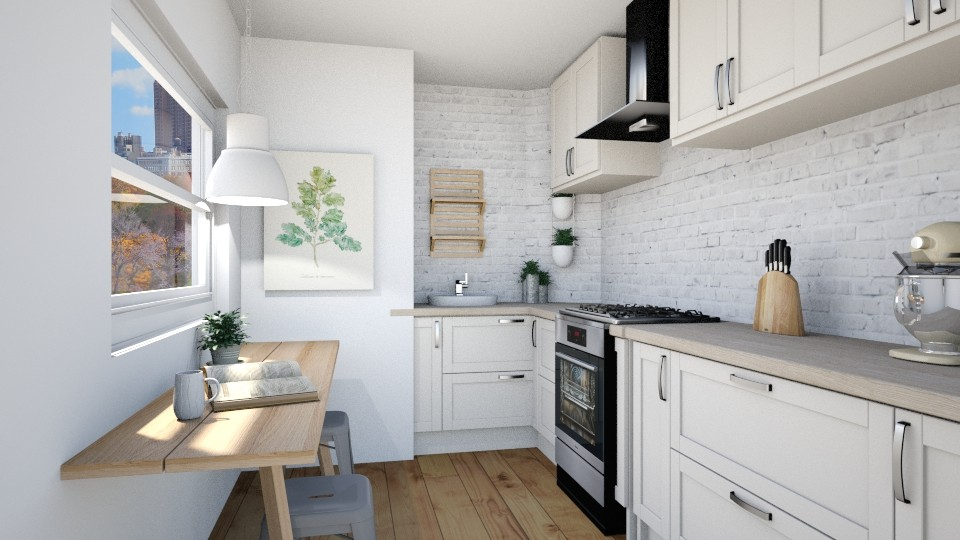 Narrow Galley Kitchen - by _xandra_
