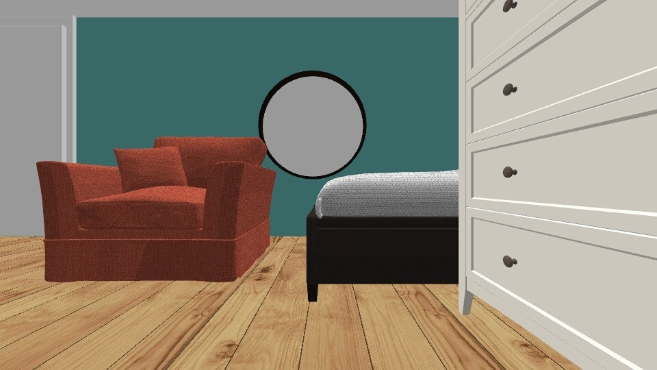 Kamer 1 - Bedroom - by indrasrooms