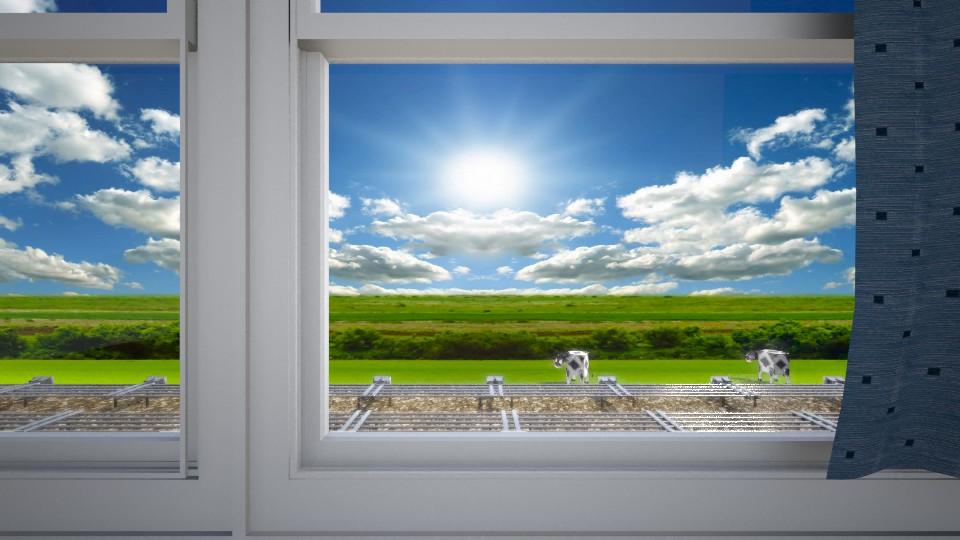 車窗外風景Train window  scenic - by Ni NI