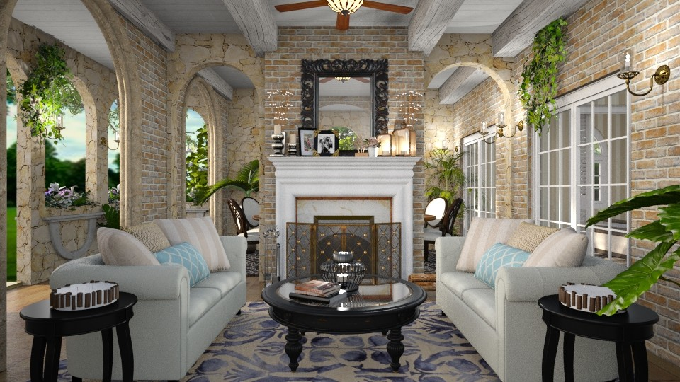 Fireplace - Classic - by Sally Anne Design