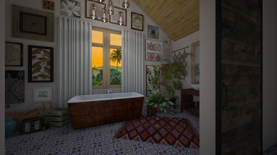Boho Bath - by ziagray