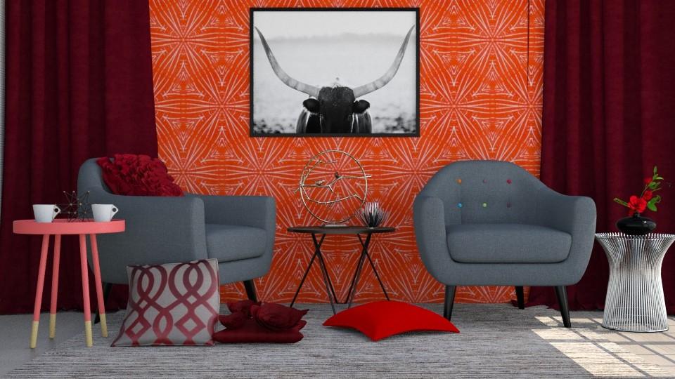 Warrior - Living room - by Liu Kovac