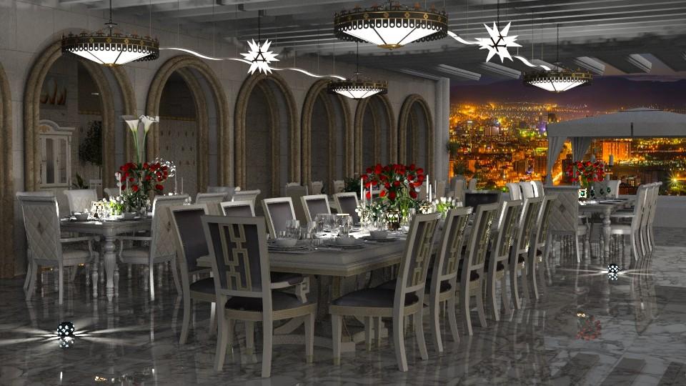 Jaya Nights7banquetIRay - Classic - Dining room - by anchajaya