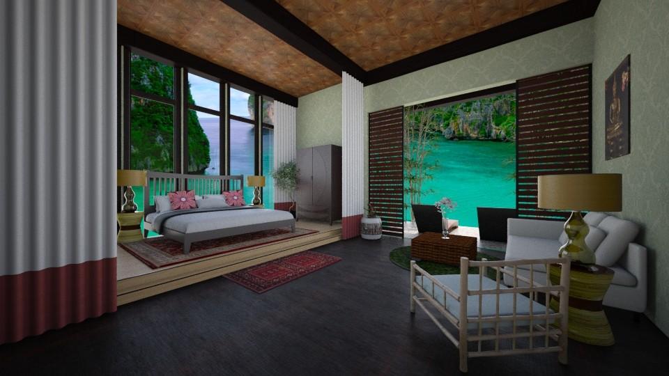 thai garden suite - Modern - Bedroom - by allday08
