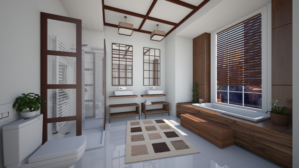 Wood Nouveau - Bathroom - by Lackew