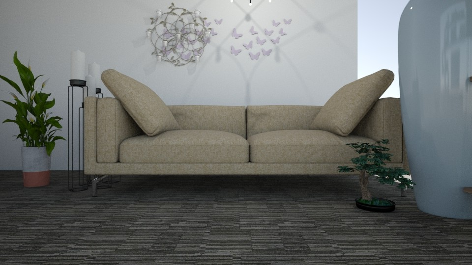 the  house 123 - Living room - by ellta