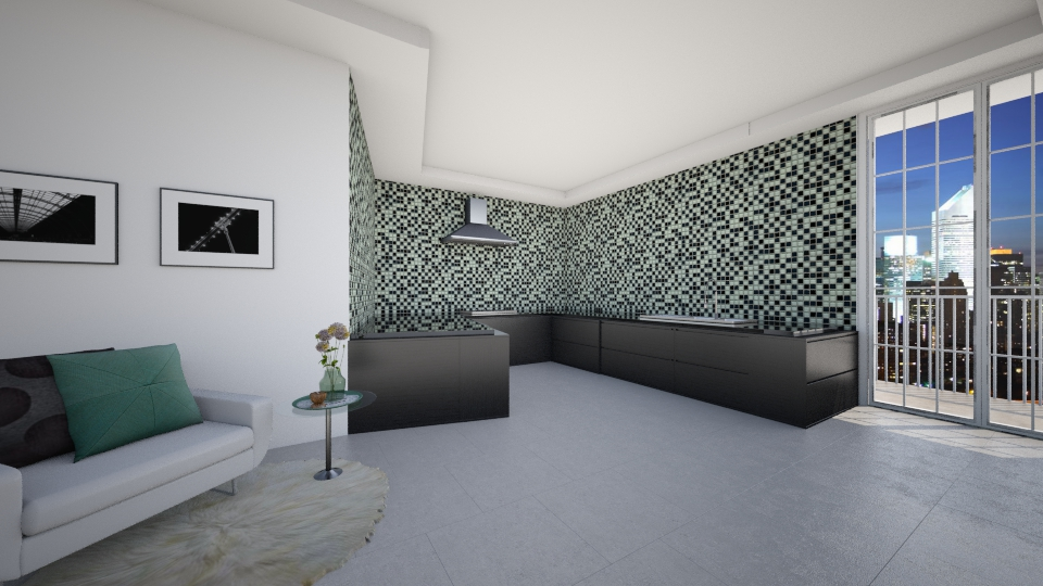 kitchen - Modern - Kitchen - by Hajartjee