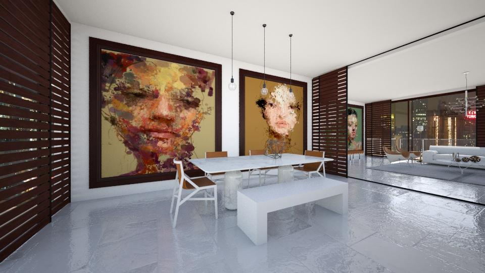 Sergio Albiac - Dining room - by AlSudairy S