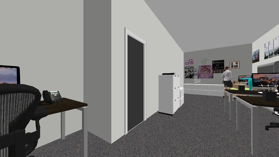 COMPACT MAP - Office - by zafra002