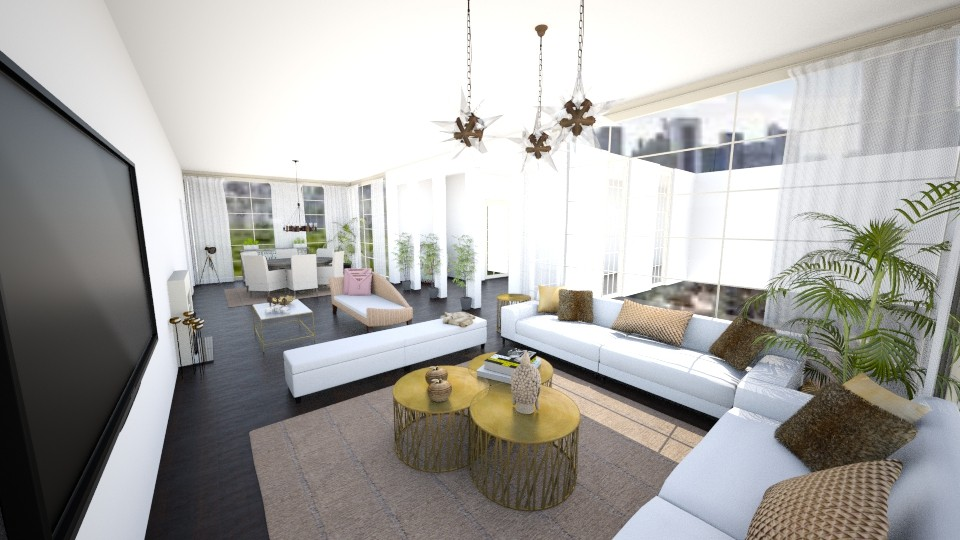 hollywood home  - Modern - by carl duvall