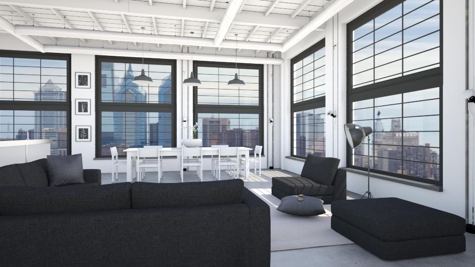 LOFT - Modern - Living room - by KRdesign