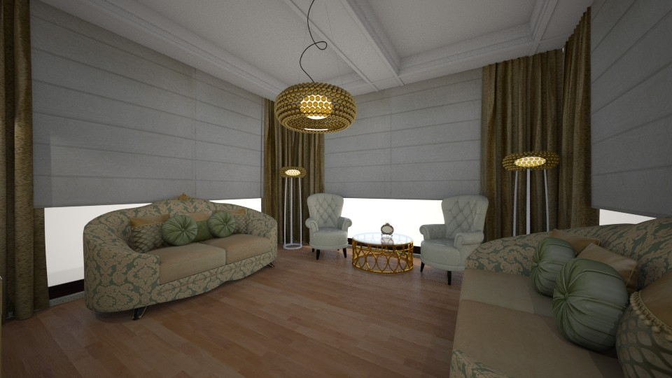 living roommm - by gizzzzz_