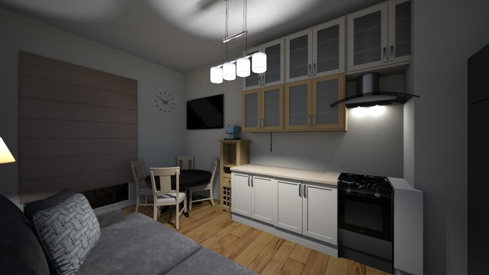 kuchnia - Kitchen - by Ania Pod