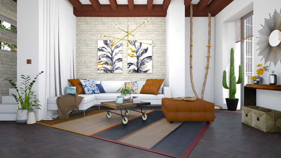 Rustic Living _FH_ - Rustic - Living room - by soniagoncalves