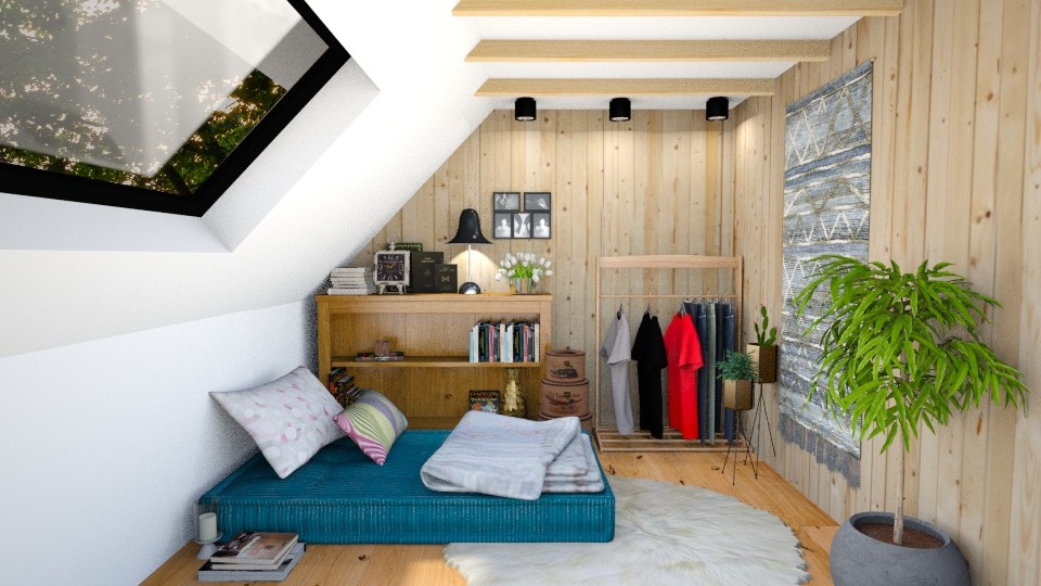 tiny wooden house - Bedroom - by Inokentijroom