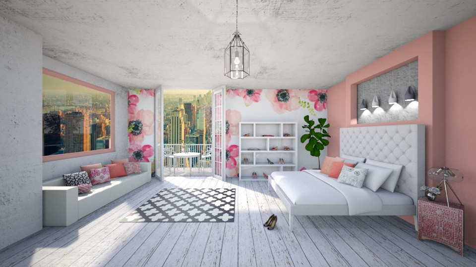 Flower Power - Bedroom - by adeldesign